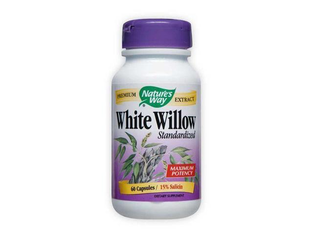 White Willow Bark Standardized Extract - Nature's Way - 60 - Capsule