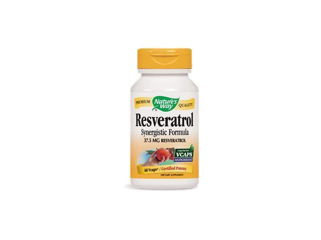 Resveratrol - Nature's Way - 60 - VegCap