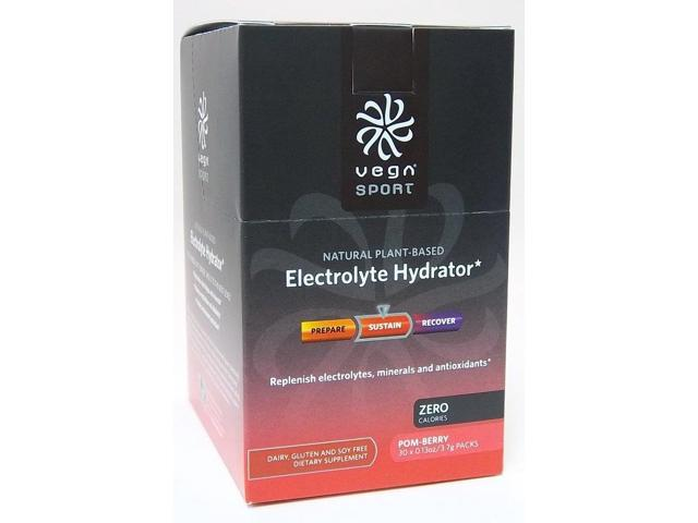 Electrolyte Hydrator-Pom Berry - SeQuel - 0.13 oz/30 - Packets