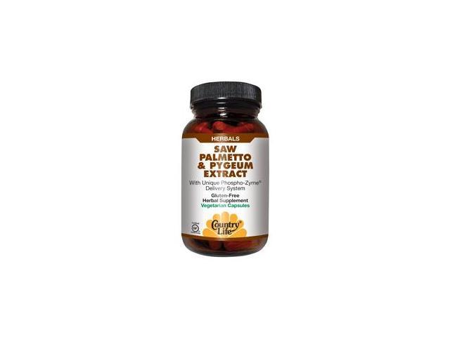 Biochem Saw Palmetto & Pygeum Extract - Country Life - 180 - VegCap