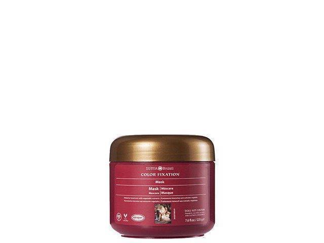 Color Fixation Restorative Mask - Surya Nature, Inc - 7.6 oz - Cream