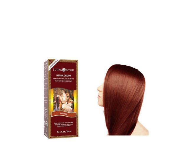 Henna Copper Cream - Surya Nature, Inc - 2.31 oz - Cream