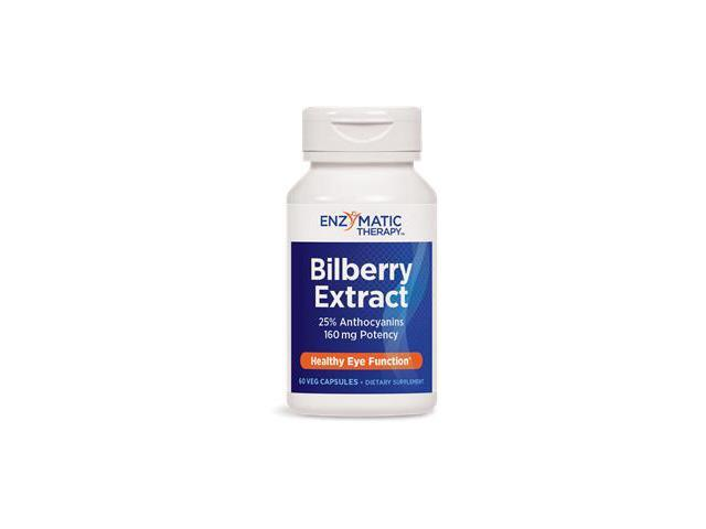 Bilberry Extract - Enzymatic Therapy Inc. - 60 - Capsule
