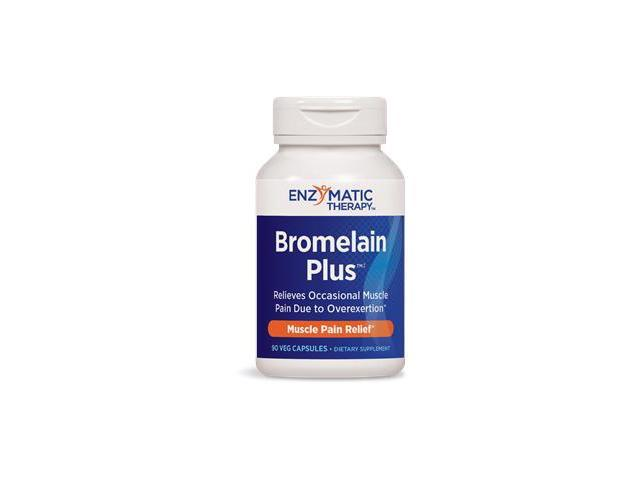 Bromelain Plus - Enzymatic Therapy Inc. - 90 - Capsule