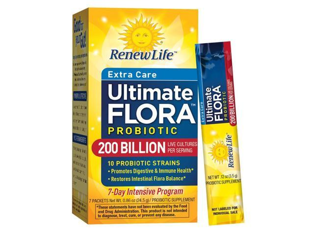 Ultimate Flora Super Critical 200 Billion - Renew Life - 7 - Packet