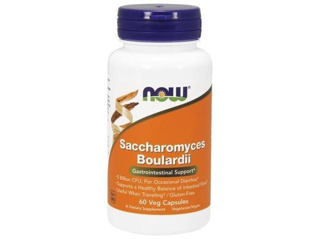 Saccharomyces Boulardii - Now Foods - 60 - VegCap