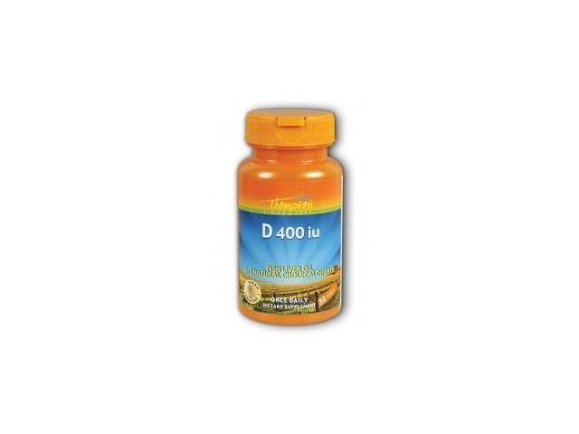 D 400 IU from Fish Liver Oil - Thompson - 30 - Softgel
