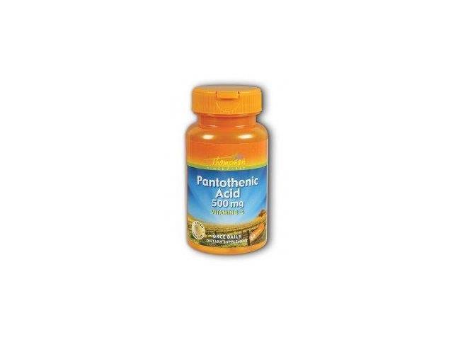 Pantothenic Acid 500mg - Thompson - 60 - Tablet