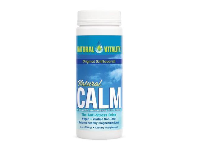 Natural Calm - Natural Vitality - 8 oz - Powder