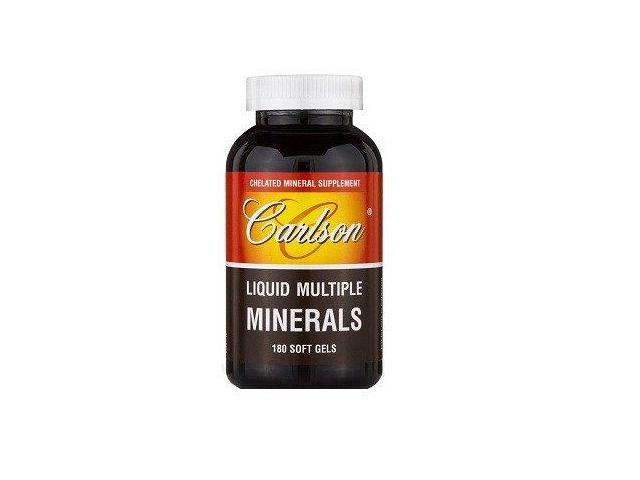 Liquid Multiple Minerals - Carlson Laboratories - 180 - Softgel
