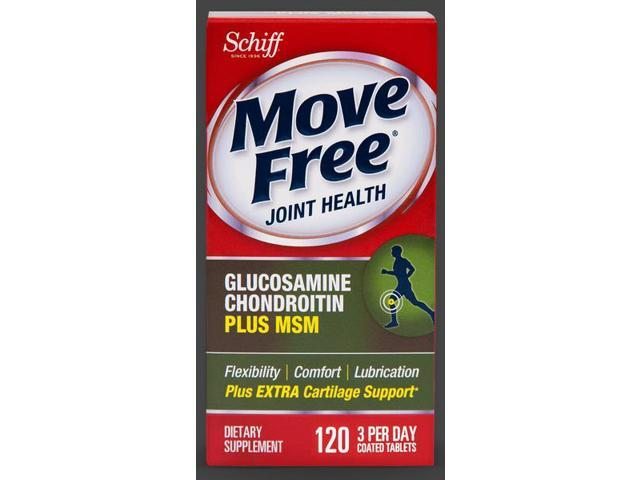 Move Free Advanced Plus MSM Joint Health Tablet 120 Count