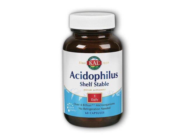 Acidophilus Room Temperature Stable - Kal - 60 - Tablet