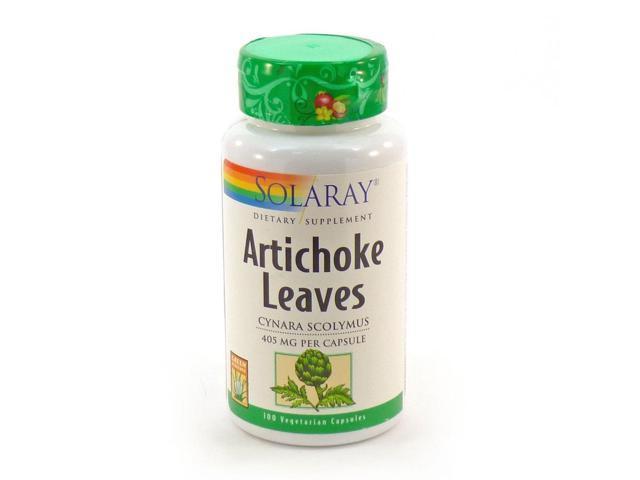 Artichoke Leaves 405mg - Solaray - 100 - Capsule