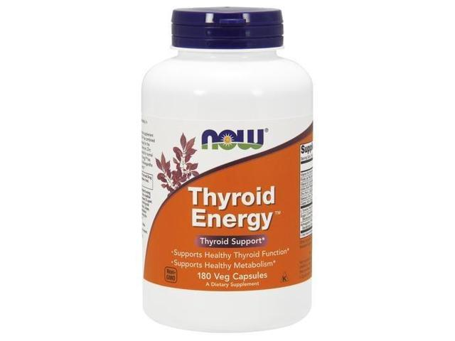 Thyroid Energy - Now Foods - 180 - VegCap
