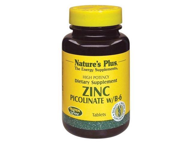Zinc Picolinate with Vitamin B-6 - Nature's Plus - 120 - Tablet