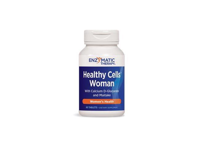 Healthy Cells Woman - Enzymatic Therapy Inc. - 60 - Tablet