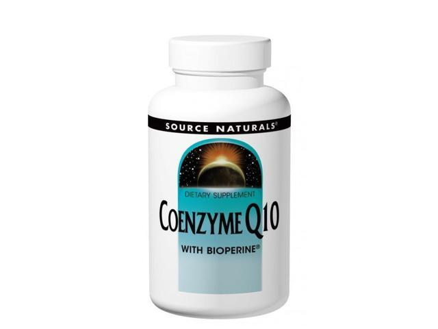 Coenzyme Q10 with Bioperine 30mg - Source Naturals, Inc. - 120 - Softgel