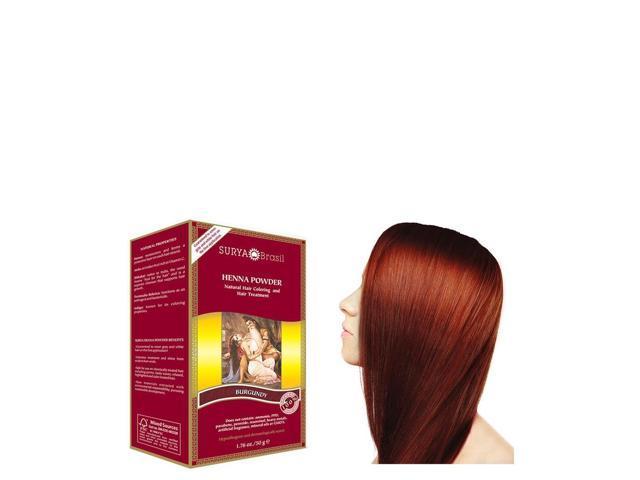 Henna Burgundy Powder - Surya Nature, Inc - 1.76 oz - Powder