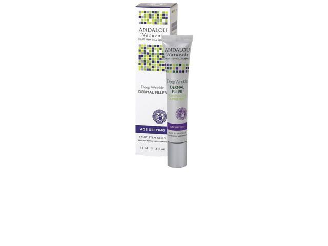 Deep Wrinkle Dermal Filler - Andalou Naturals - 0.6 oz - Liquid