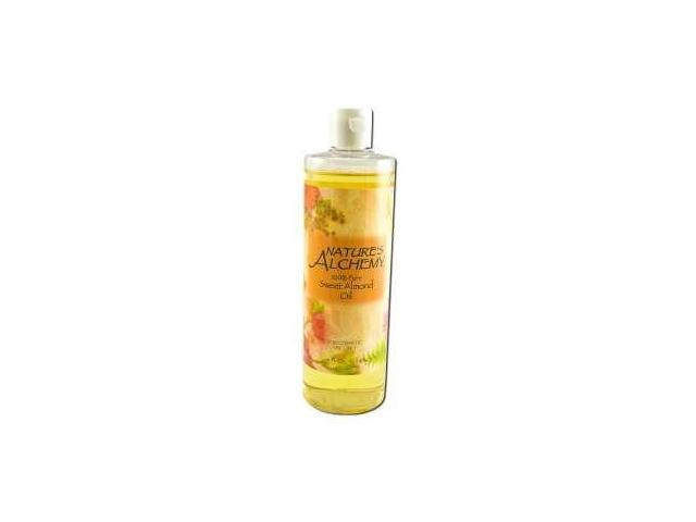 Carrier Oil Sweet Almond - Nature's Alchemy - 16 oz - Oil