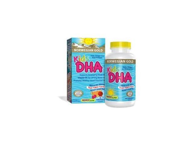 Norwegian Gold Kids DHA - Renew Life - 60 - Softgel