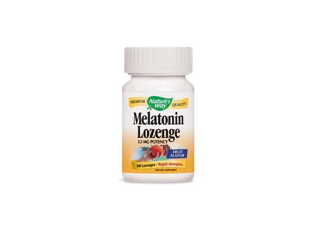 Melatonin 2.5mg Sublingual - Nature's Way - 100 - Lozenge