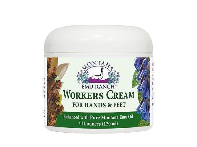 Worker's Hand Cream - Montana Emu Ranch Co. - 4 oz - Cream