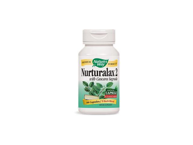 Nurturalax 2 with Cascara Sagrada - Nature's Way - 100 - Capsule