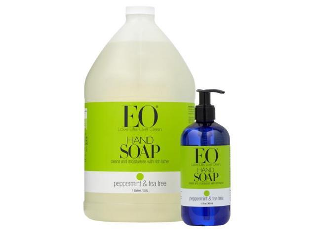 Liquid Hand Soap Peppermint Tea Tree - EO - 128 oz - Liquid