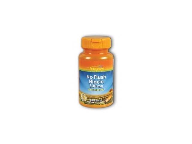 Niacin Flush-Free 500mg - Thompson - 30 - Capsule