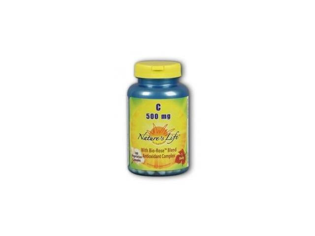 Vitamin C 500mg - Nature's Life - 100 - Capsule