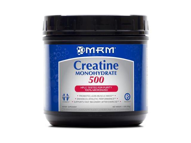 Creatine Monohydrate Powder (Micronized) - MRM (Metabolic Response Modifiers) - 500 g - Powder