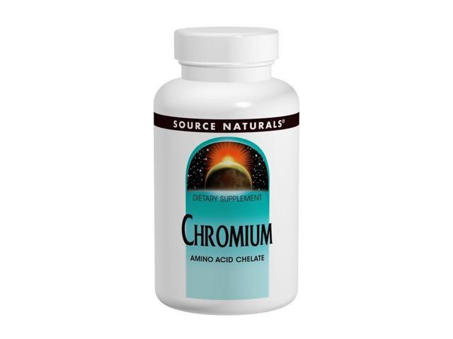 Chromium Chelate 200mcg - Source Naturals, Inc. - 250 - Tablet