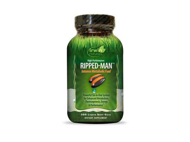 High-Performance Ripped-Man - Irwin Naturals - 100 - Softgel