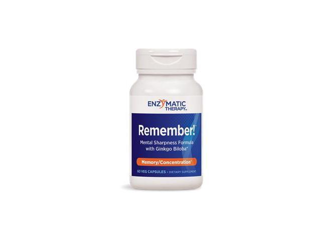 Remember! - Enzymatic Therapy Inc. - 60 - Capsule