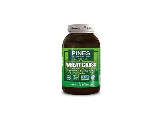 Wheat Grass Powder - Pines - 10 oz - Powder