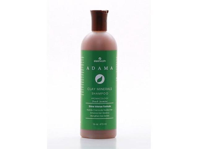 Adama Shampoo Peach Jasmine - Zion Health - 16 oz - Liquid