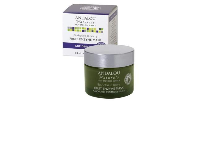 BioActive 8 Berry Fruit Enzyme Mask - Andalou Naturals - 1.7 oz - Cream