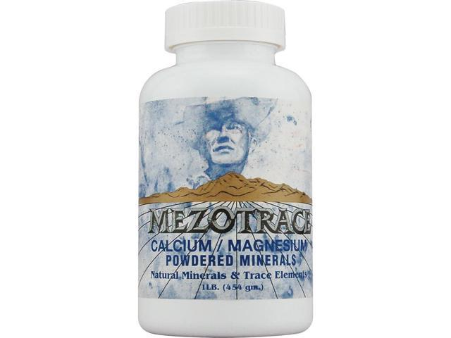 Mezotrace Calcium/Magnesium Natural Minerals & Trace Elements - Mezotrace - 16 oz - Powder