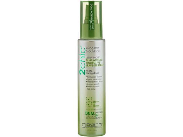 2CHIC Spray  Avocado & Olive Oil Protection - Giovanni - 4 oz - Liquid