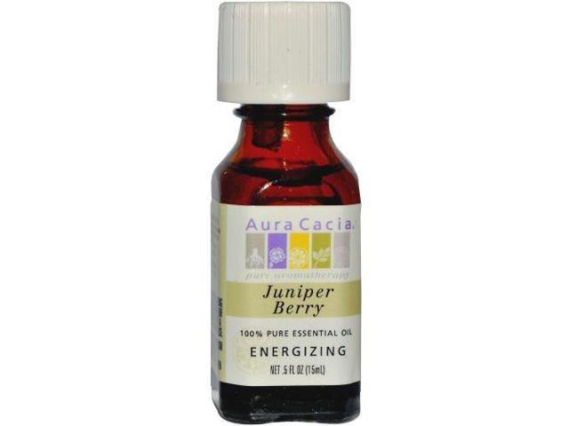 Essential Oil Juniper Berry - Aura Cacia - 0.5 oz - EssOil
