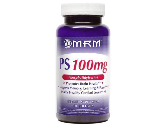 PS-PhosphatidylSerine 100mg - MRM (Metabolic Response Modifiers) - 60 - Softgel