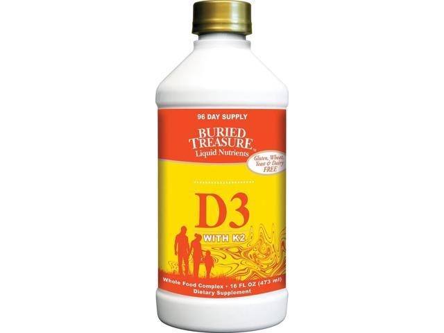 Liquid D3 - Buried Treasure - 16 fl oz - Liquid