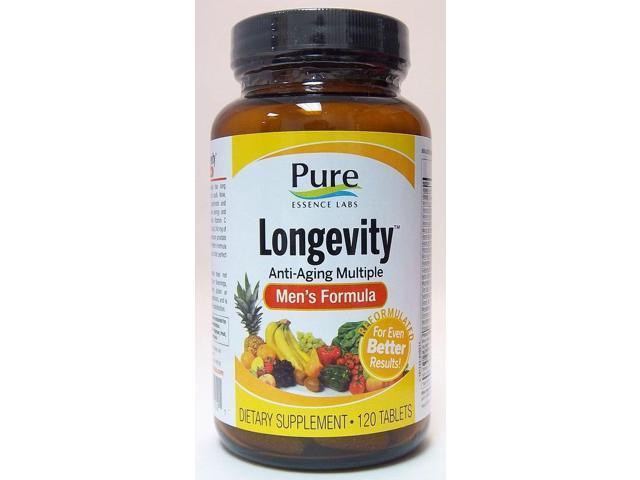 Longevity Men's Formula - Pure Essence Labs - 120 - Tablet