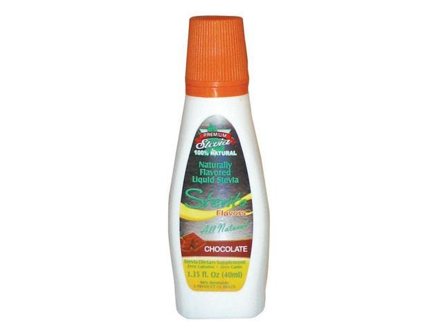 Stevia Chocolate USDA Certified Organic  - Convenient Drop-Tip Squeeze Bottle - Stevita - 1.35 oz - Liquid