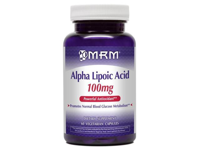Alpha Lipoic Acid 100mg - MRM (Metabolic Response Modifiers) - 60 - Capsule
