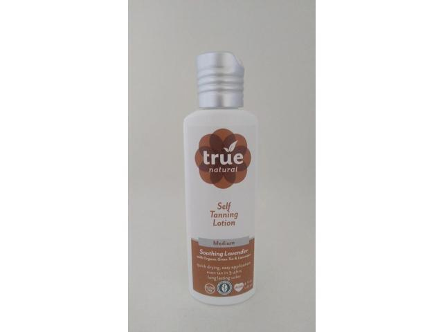 All Natural Self Tanning Lotion - True Natural - 3.4 oz - Lotion