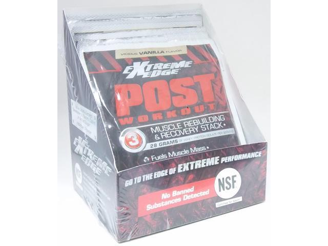 Extreme Edge Post Workout Vicious Vanilla -7 Pack - Bluebonnet - 7 - Packet