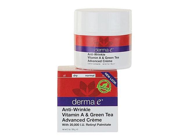 Anti-Wrinkle Vitamin A & Green Tea Advanced Crme - Derma-E - 2 oz - Cream