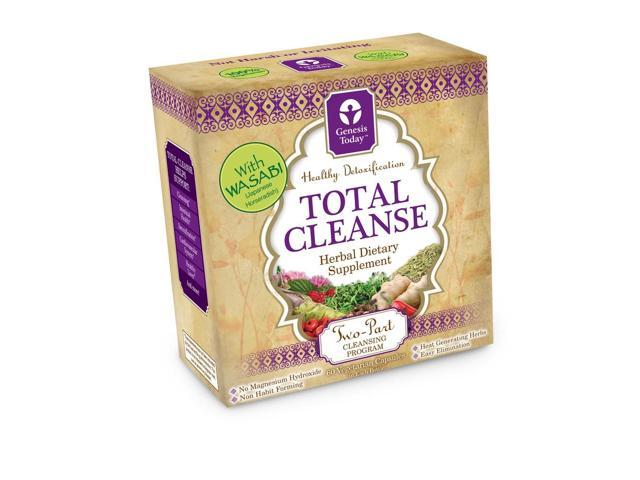 4 Total Cleanse Kit - Genesis Today Inc - 120 - Capsule